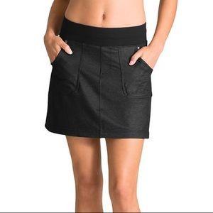 Athleta Denim Northpeak Skort Black Skirt Athletic